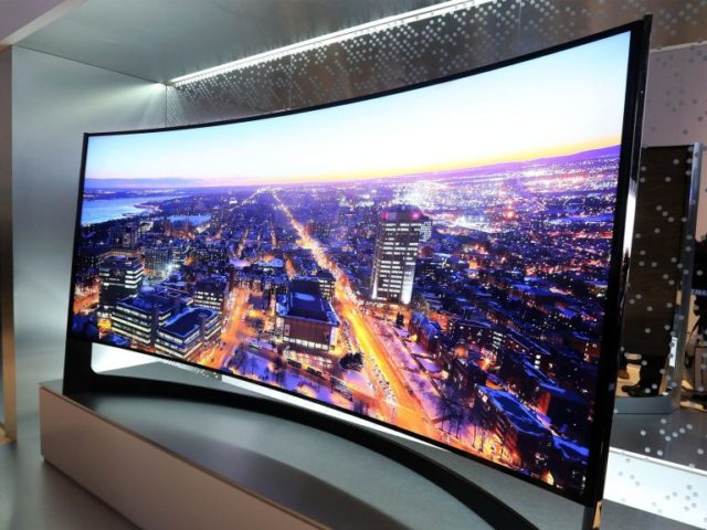 Curved Televisions